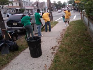 Farmers Blvd. Clean-Up Day